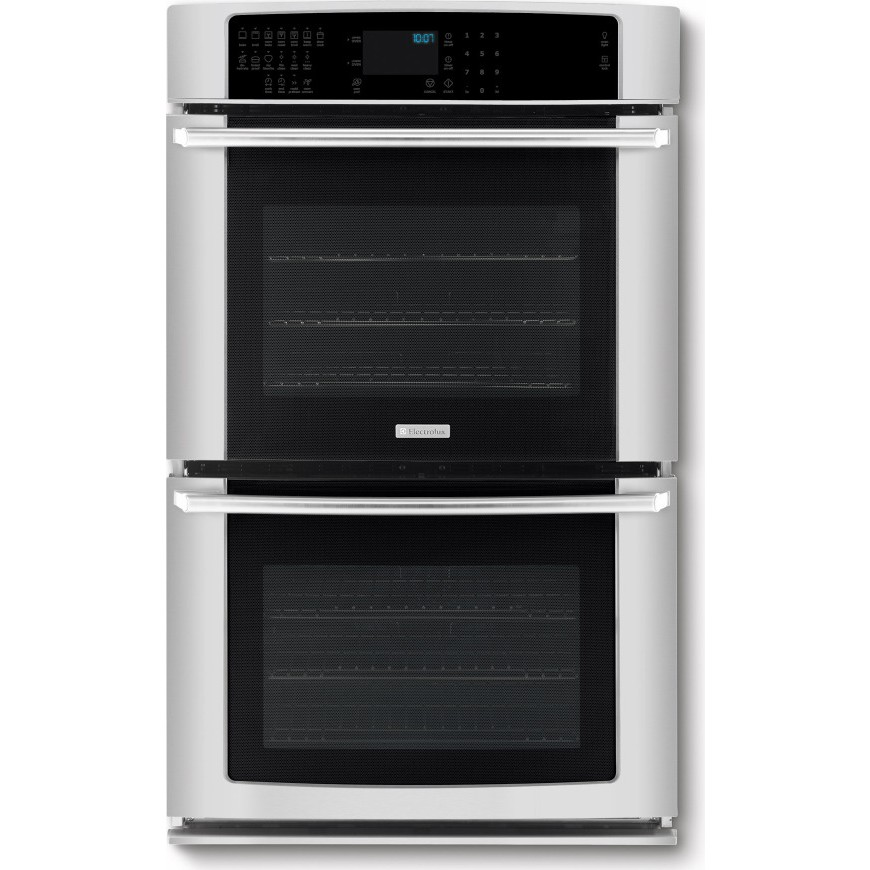 Ei27ew45js electrolux 27 double wall oven iq touch for Luxury oven