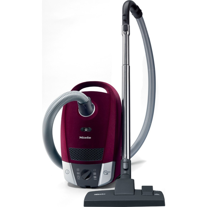 miele s6270 red velvet canister vacuum cleaner. Black Bedroom Furniture Sets. Home Design Ideas