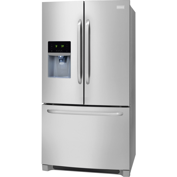 Ffhb2740ps Frigidaire 26 7 Cu Ft French Door Refrigerator