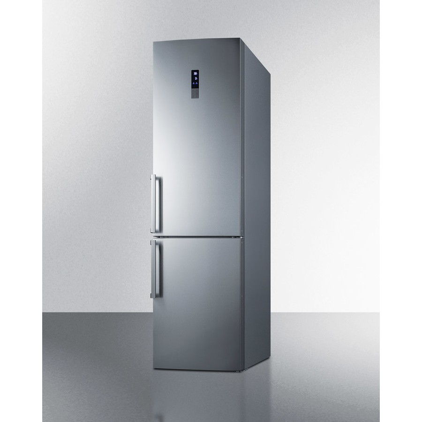 ffbf191ss summit 24 bottom freezer counterdepth refrigerator. Black Bedroom Furniture Sets. Home Design Ideas
