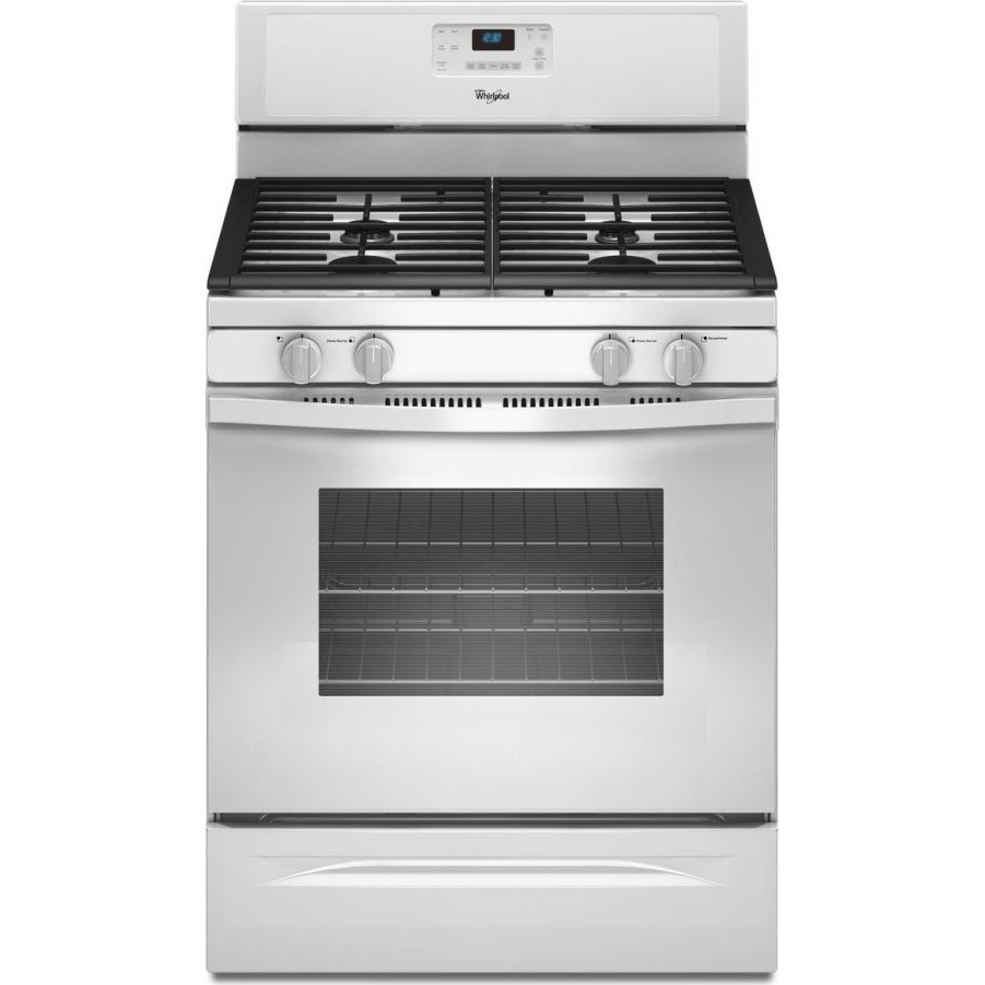 whirlpool wfg520s0aw 30 freestanding gas range with 4 sealed burners 5 0 cu ft self cleaning. Black Bedroom Furniture Sets. Home Design Ideas