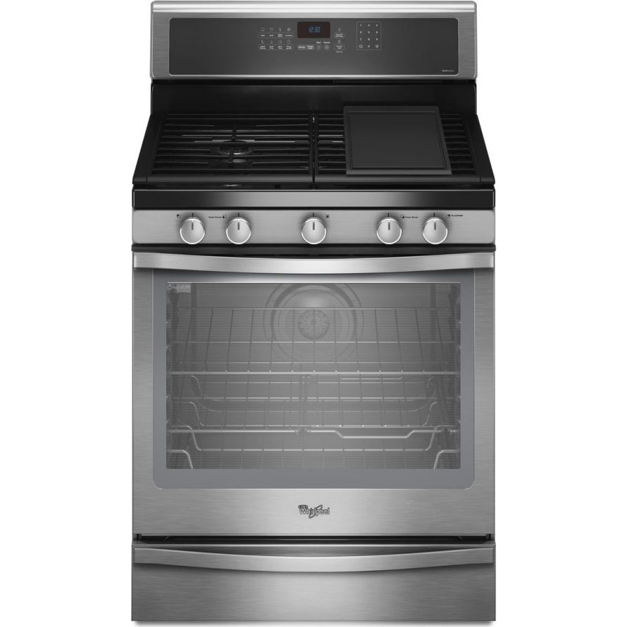 Whirlpool Wfg720h0as 30 Quot Freestanding Gas Range With 5
