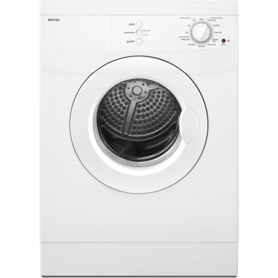 Med7500yw Maytag 24 Quot Compact Electric Dryer