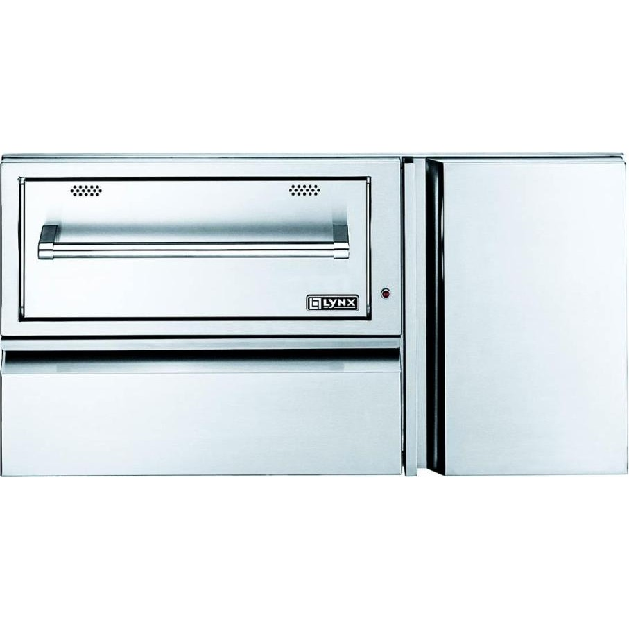 Lynx L42cc1 42 Quot Convenience Center With Warming Drawer