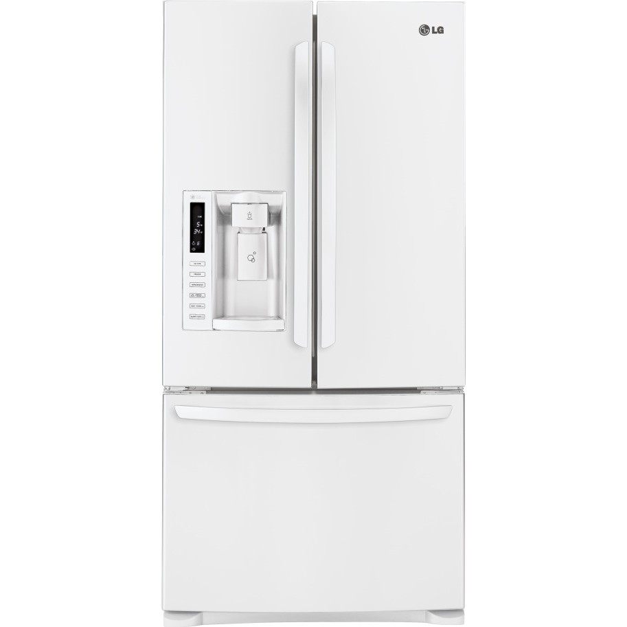 Lg Lfx25978sw 24 9 Cu Ft French Door Refrigerator With 4