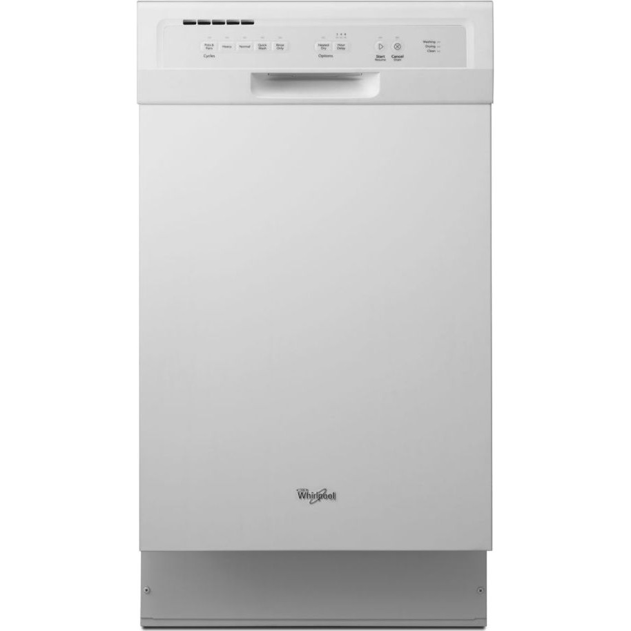 Whirlpool Wdf518saaw Full Console Dishwasher With 5 Wash