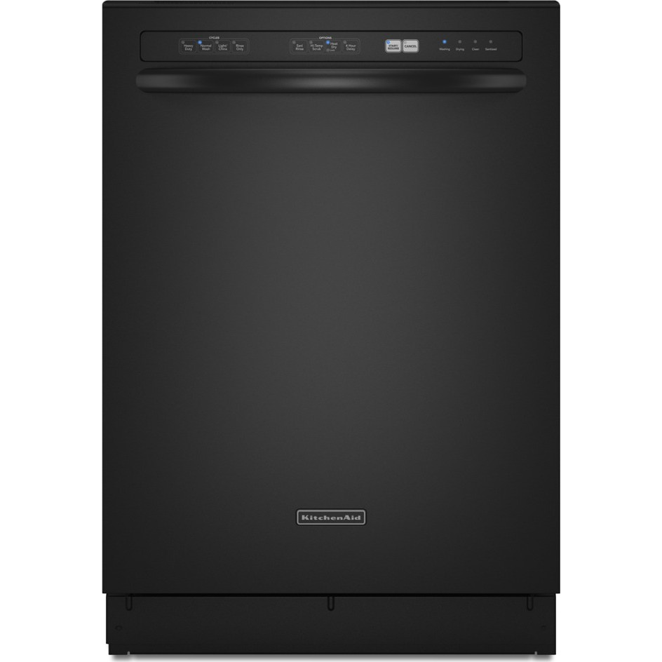Kitchenaid Kude45cvbl Full Console Dishwasher With 5 Wash