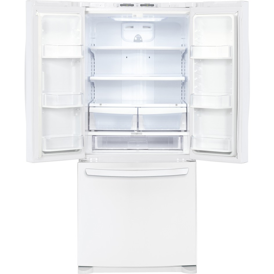 LG LFC20770SW 19 7 Cu Ft French Door Refrigerator With