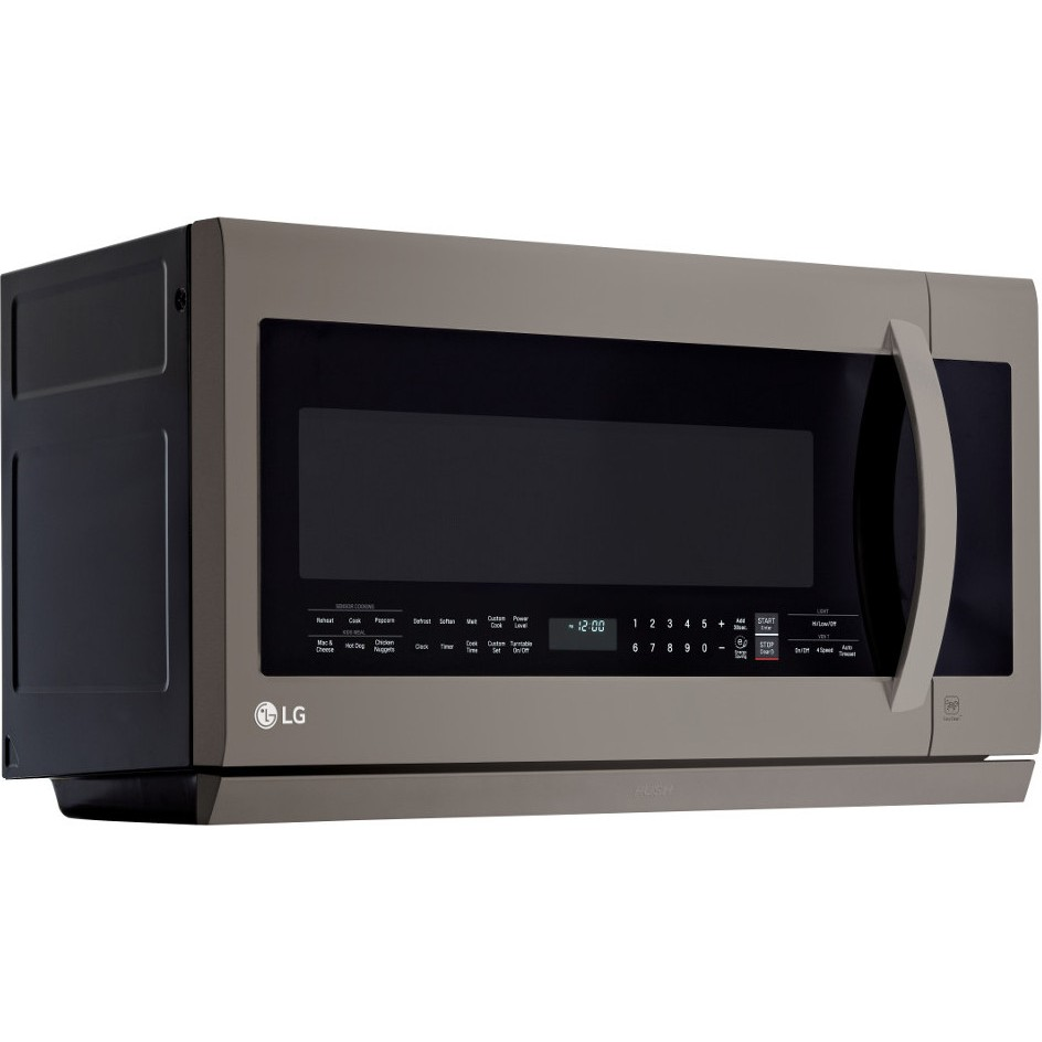 Lmhm2237bd Lg 2 2 Cu Ft Over The Range Microwave Oven