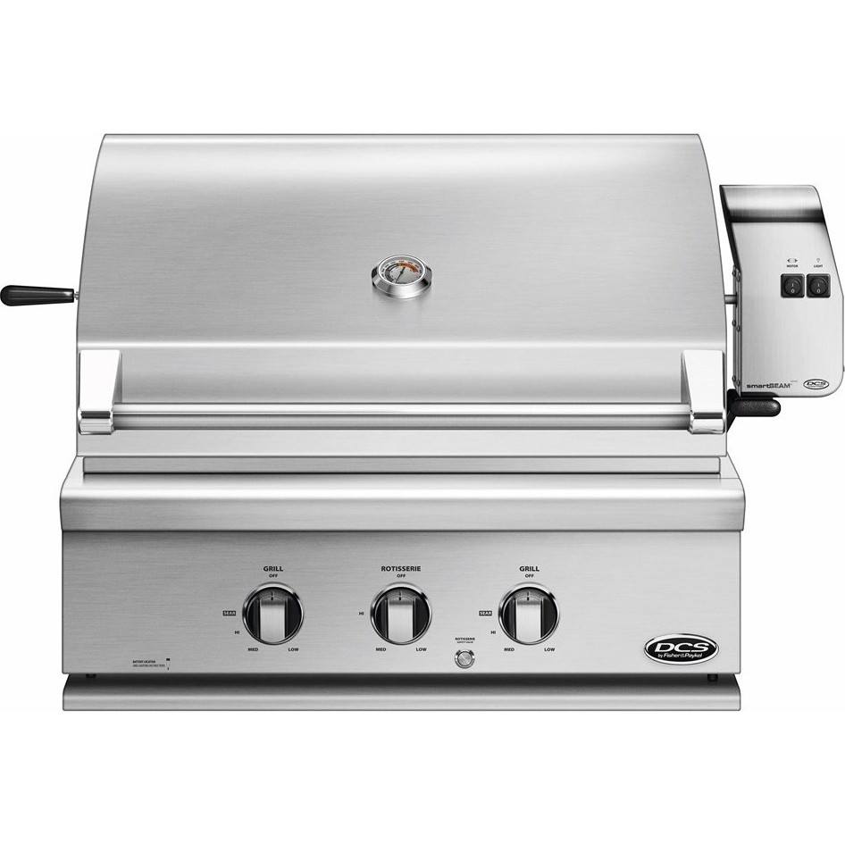 """DCS BH130RN 30"""" Built-In Grill With Rotisserie"""