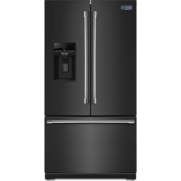 Mft2776dee Maytag 27 0 Cu Ft French Door Refrigerator