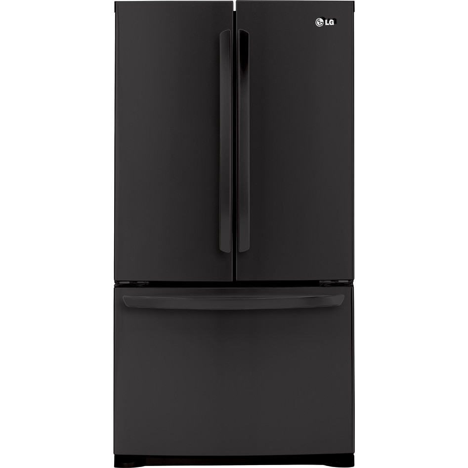 Lg lfc25776sb 25 0 cu ft french door refrigerator with 4 for Split french doors