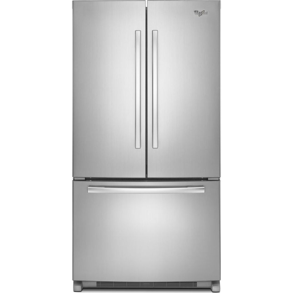Wrf535smbm Whirlpool 24 8 Cu Ft French Door Refrigerator