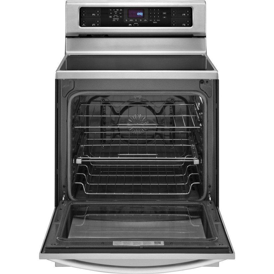 Kitchenaid kers306bss 30 freestanding electric range with for Kitchenaid 0 finance