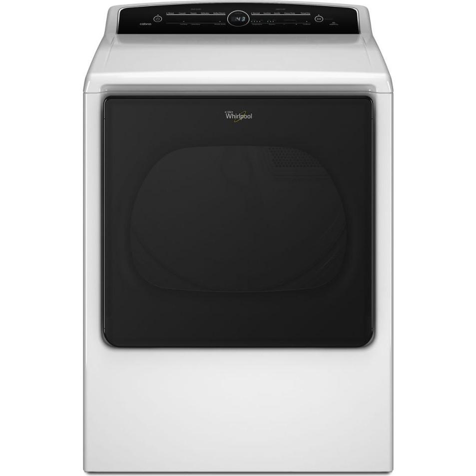 wgd8000dw whirlpool 8 8 cu ft cabrio gas dryer white. Black Bedroom Furniture Sets. Home Design Ideas