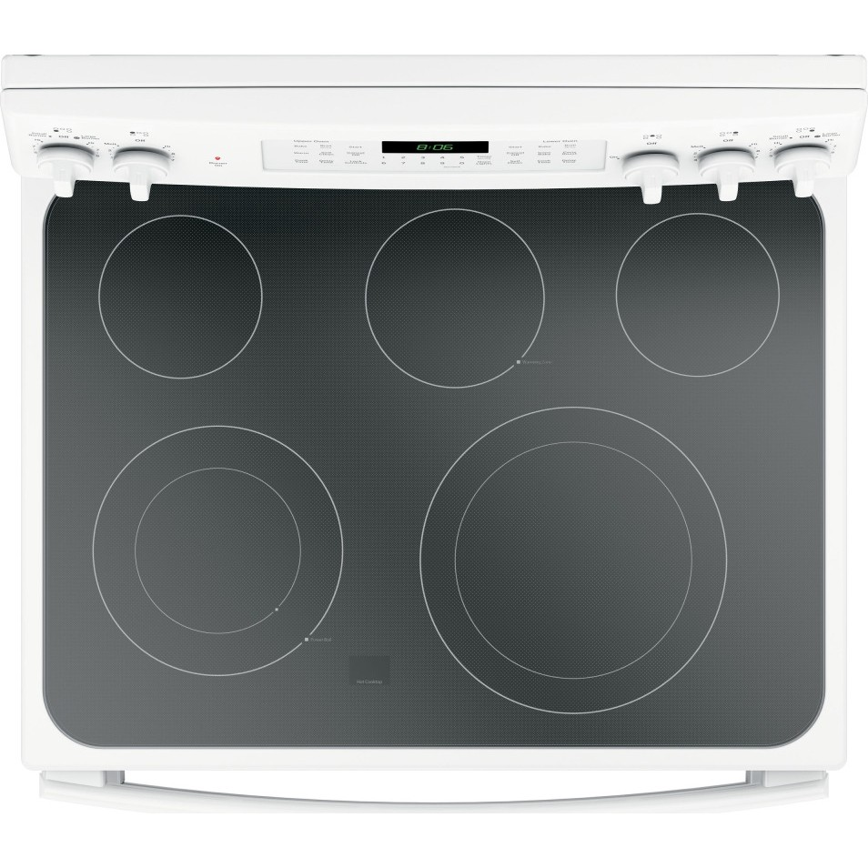 Jb860djww Ge 30 Quot Free Standing Electric Double Oven