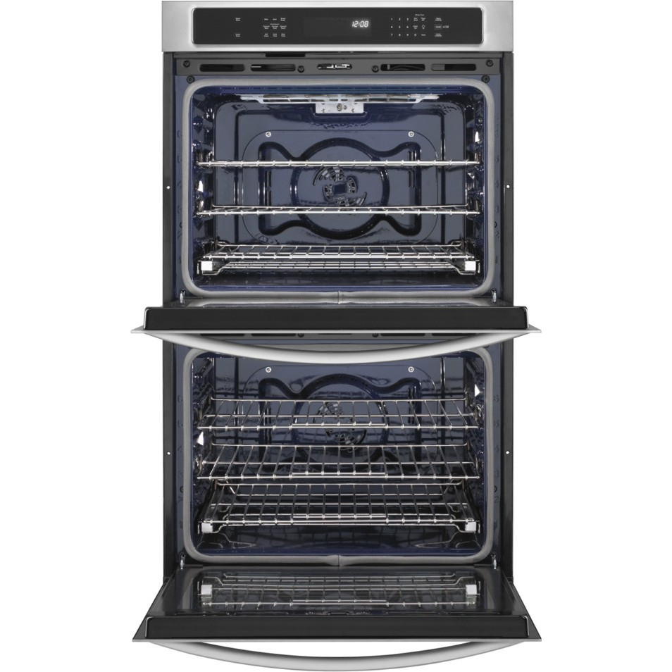 Kitchenaid kebs209bss 30 double electric wall oven with 5 for Kitchenaid 0 finance
