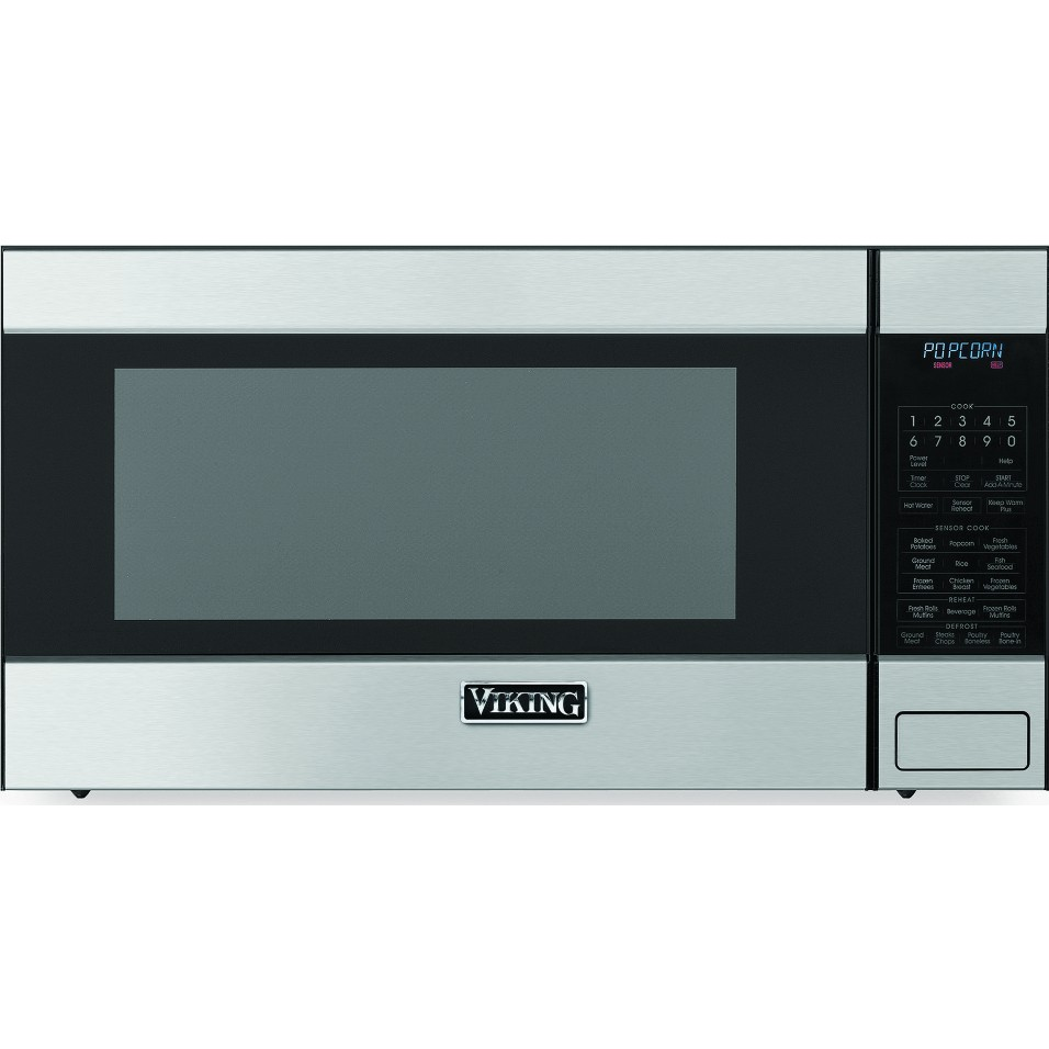 Rvm320ss viking 2 0 cu ft built in or countertop for Built in microwave 24 inches wide