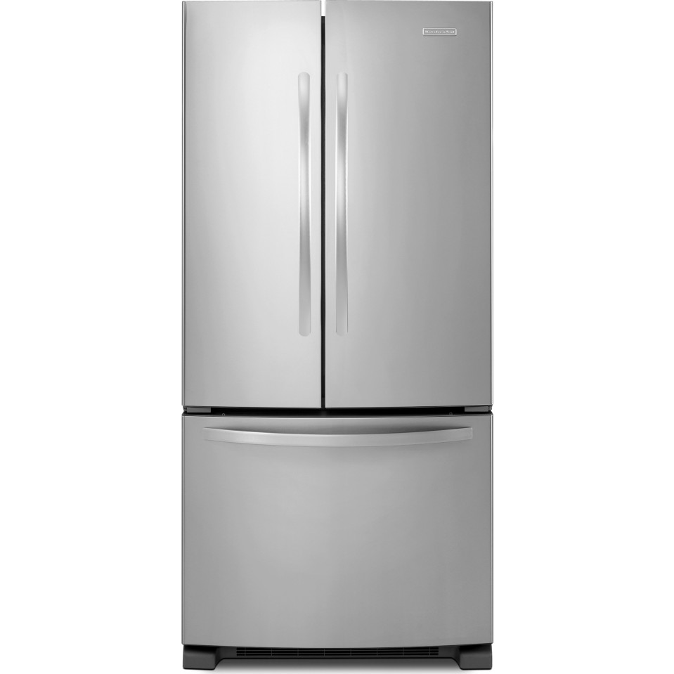 Kitchenaid kbfs22ewms 21 9 cu ft french door for Kitchenaid 0 finance