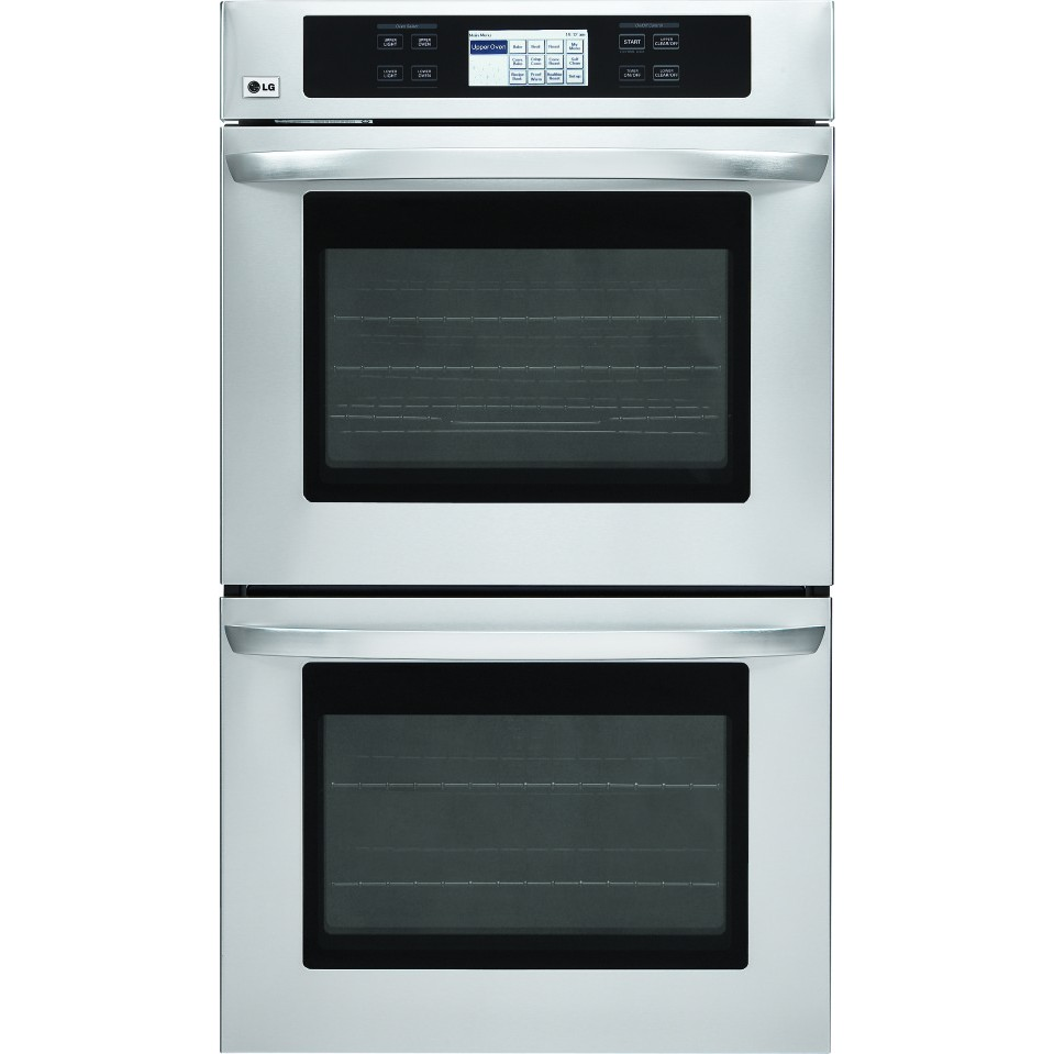 Lg lwd3081st 30 double electric wall oven 4 7 cu ft for Electric moving wall pictures