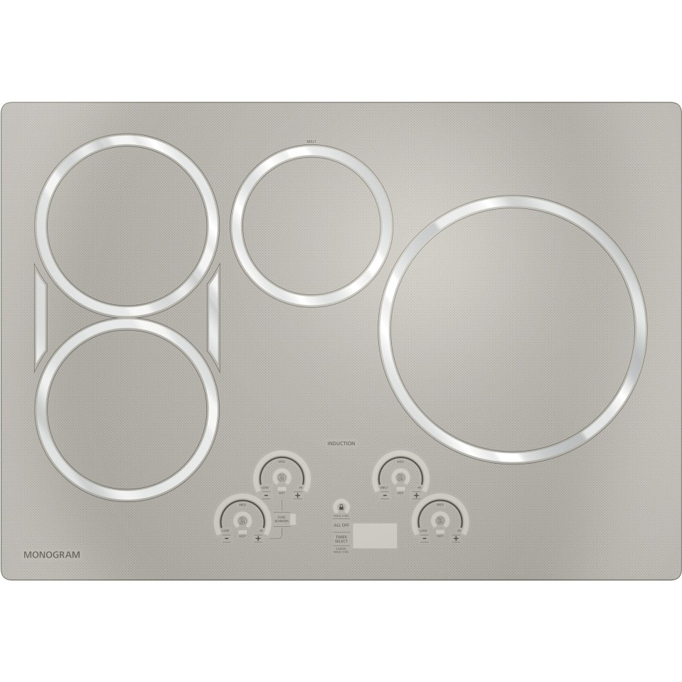 Zhu30rsjss Ge Monogram 30 Quot Induction Cooktop