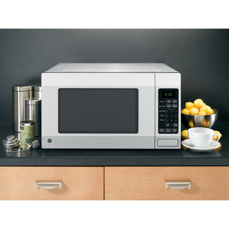 Home Kitchen Appliances Cooking Microwaves GE JES1656SRSS