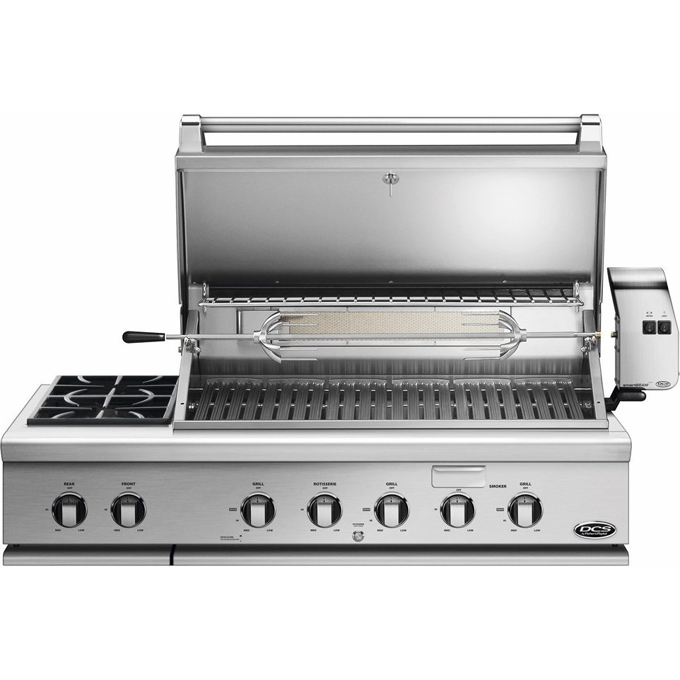 Dcs Bh148rsn 48 Quot Built In Grill With Rotisserie And Side