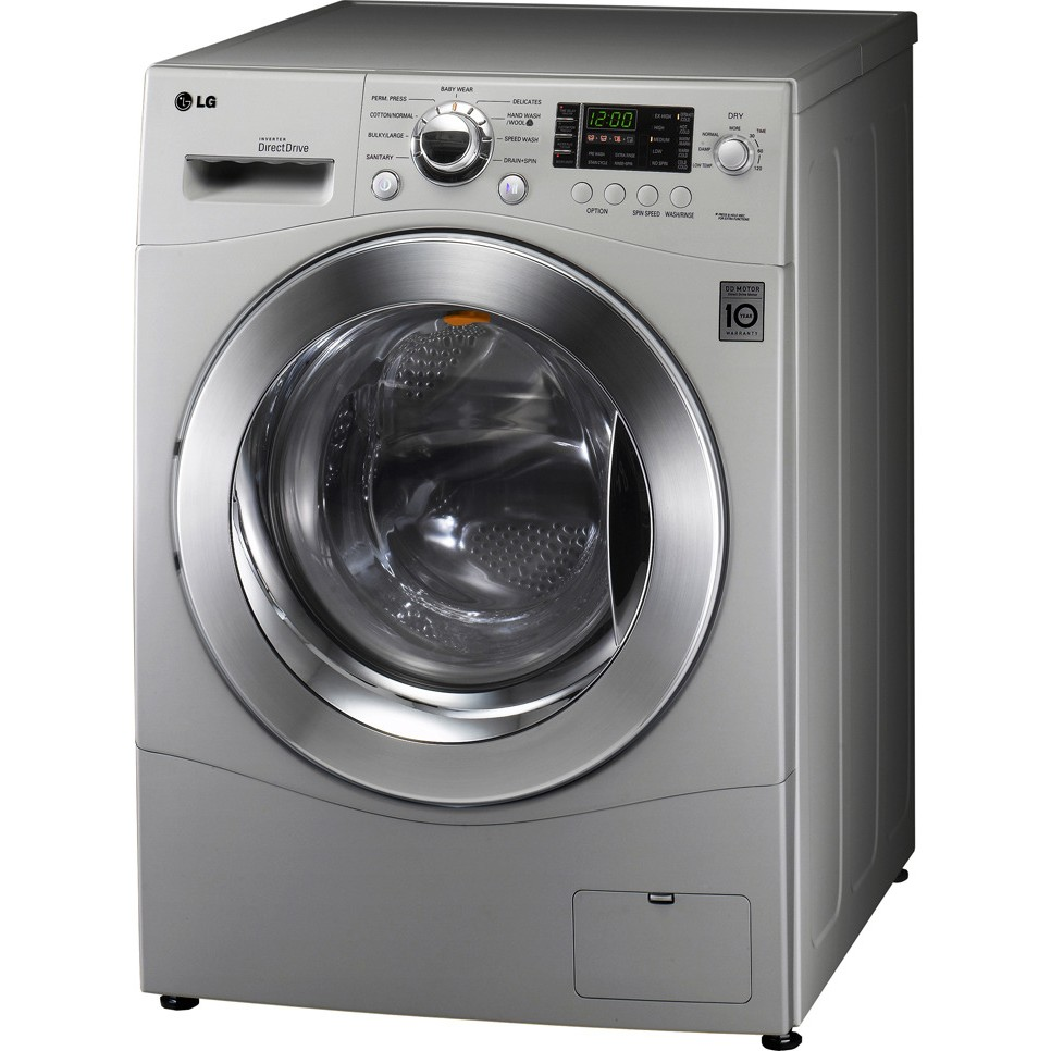 Lg Wm3455hs 24 Front Load Compact Washer Dryer Combo 2