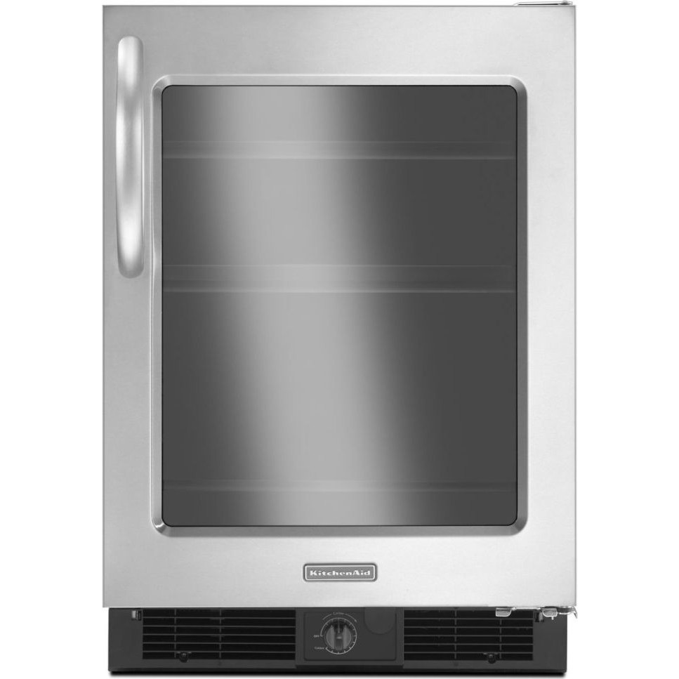 Kitchenaid kurg24rwbs 24 undercounter all refrigerator for Kitchenaid 0 finance