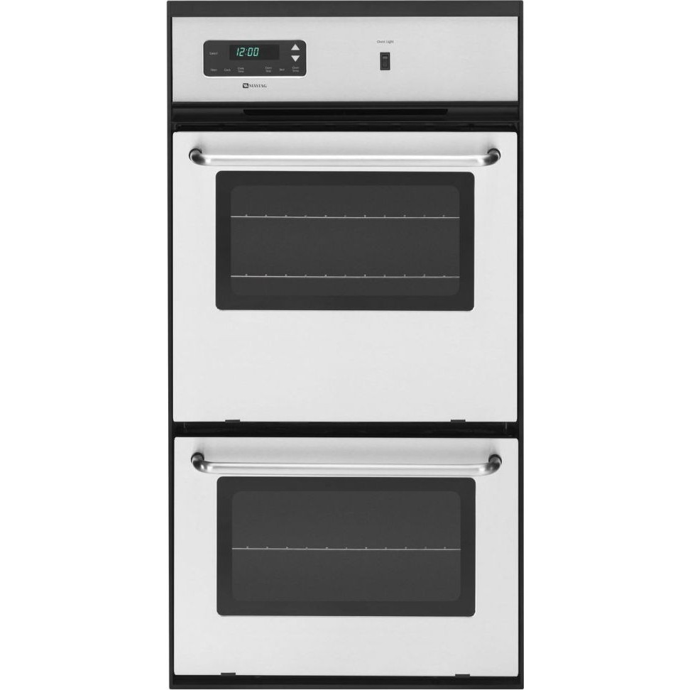 Maytag Cwg3600aas 24 Double Gas Wall Oven
