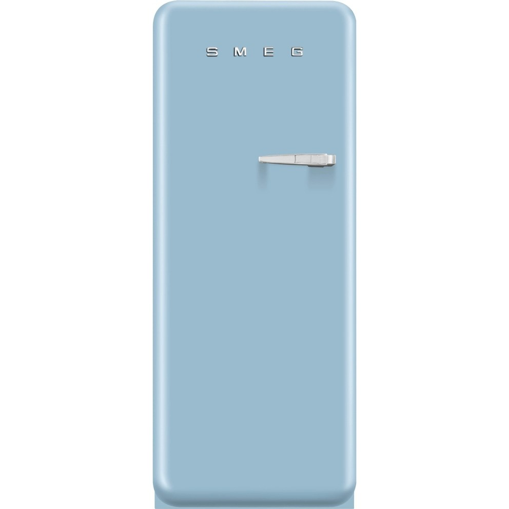 Smeg FAB28UPBL1 Pastel Blue 50's Retro Style Fridge - Left Hinge