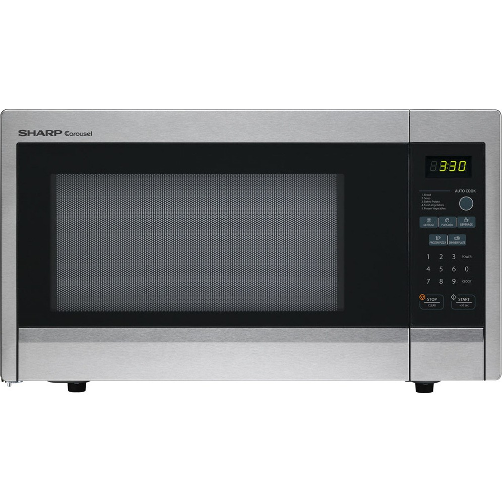 Sharp R331zs 1 1 Cu Ft Countertop Microwave Oven With