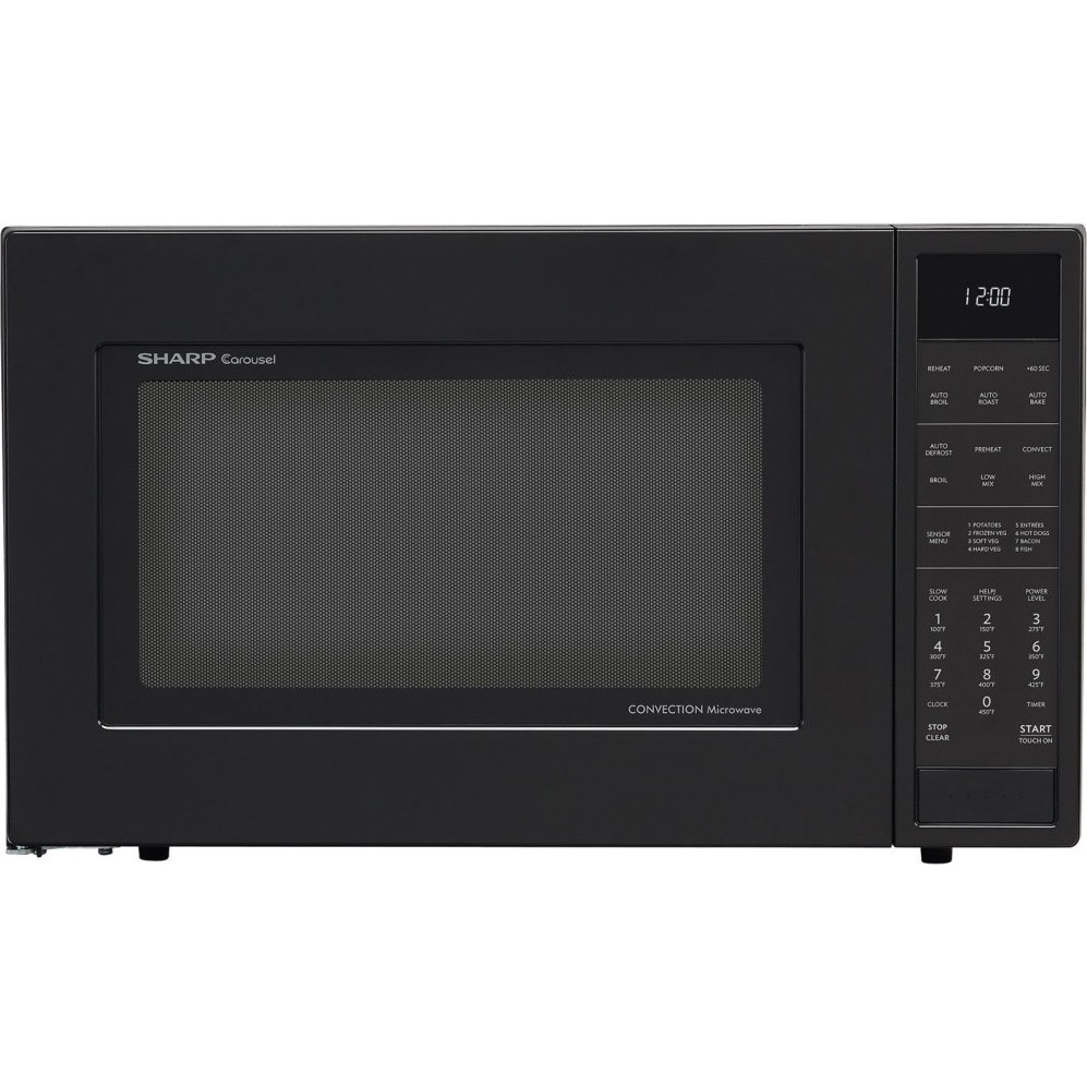 Countertop Microwave Convection Oven : ... Sharp 1.5 cu. ft. Convection Microwave, Built In or Countertop - Black
