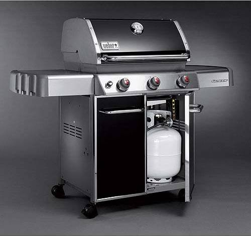 6511001 weber genesis e 310 grill black propane. Black Bedroom Furniture Sets. Home Design Ideas