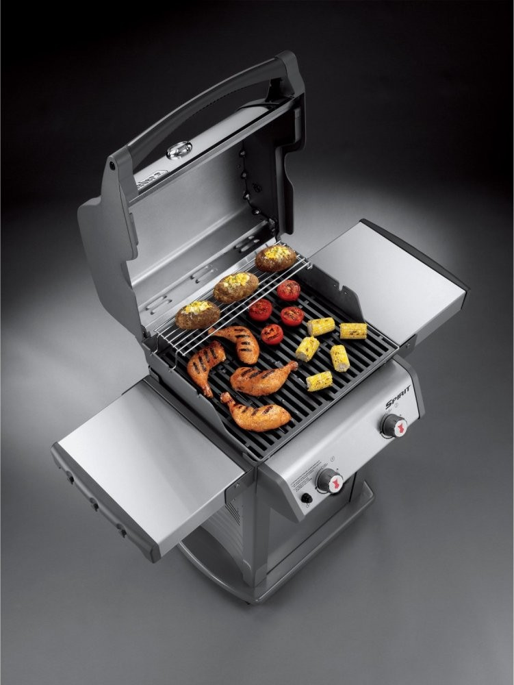 46100001 Weber Spirit S 210 Gas Grill Stainless Steel