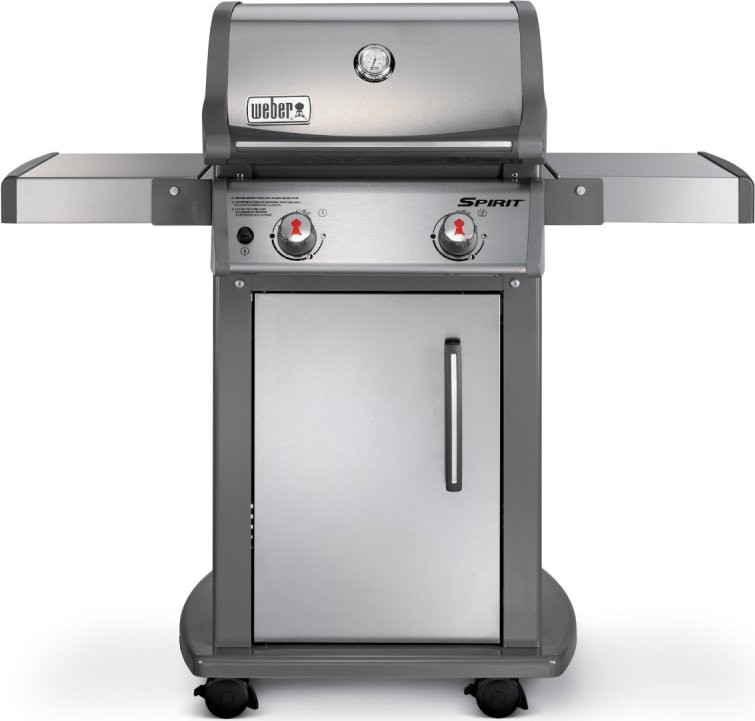 47100001 weber spirit s 210 gas grill stainless steel. Black Bedroom Furniture Sets. Home Design Ideas