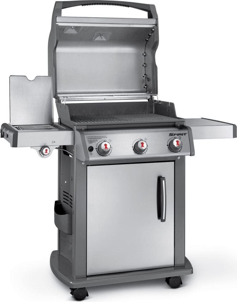 47700401 Weber Spirit Sp 320 Gas Grill Stainless Steel Natural Gas