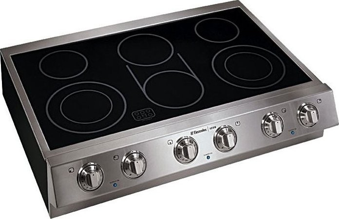Top Ranked Electric Cooktops ~ E ec hss electrolux icon quot pro slide in electric