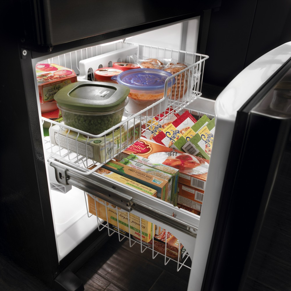 Amana Abb2224web 21 9 Cu Ft Bottom Freezer Refrigerator