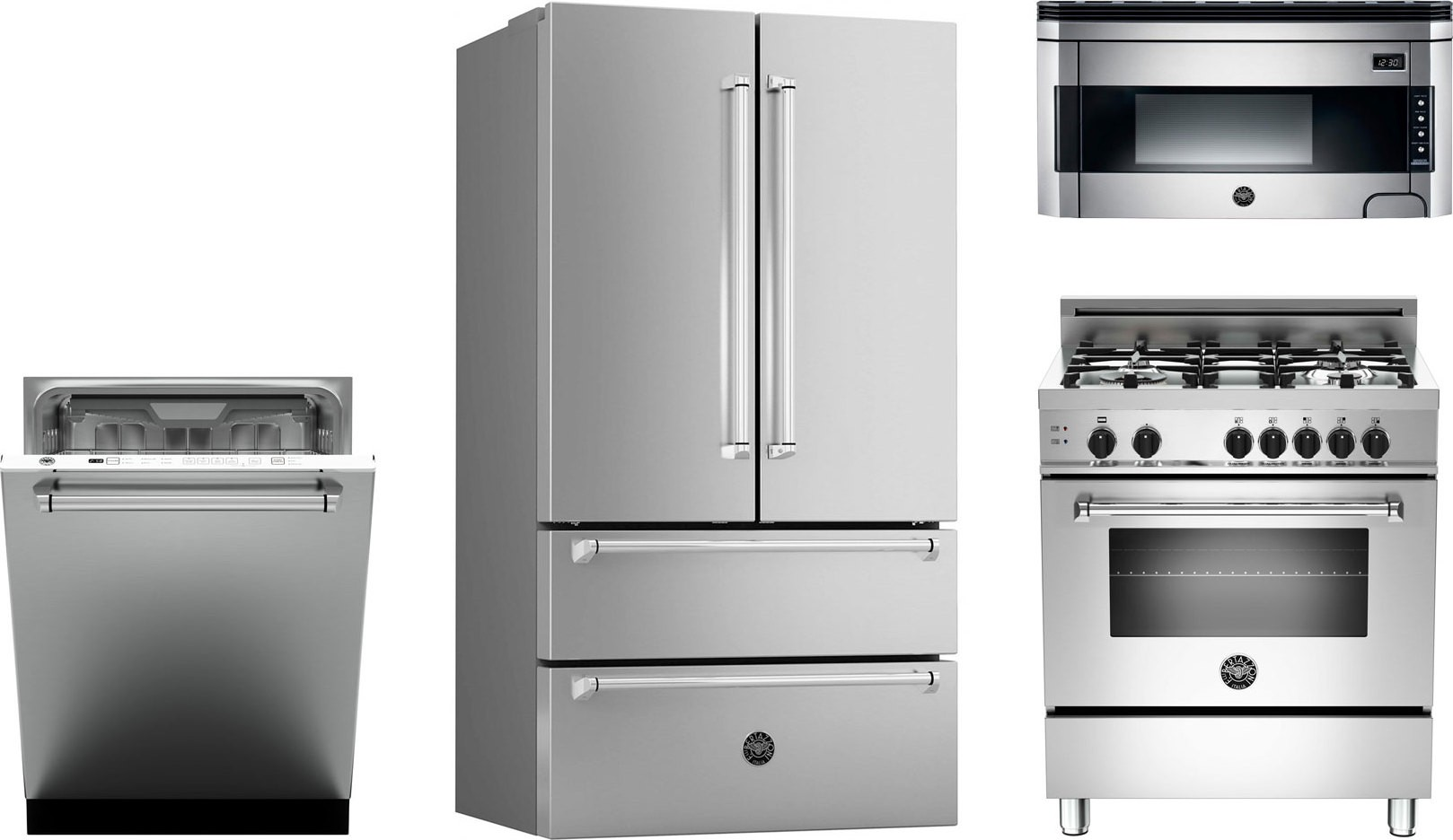 Gas Kitchen Appliance Packages Bertazzoni Kitchen Package With Mas304gasxe Gas Range Ref36x