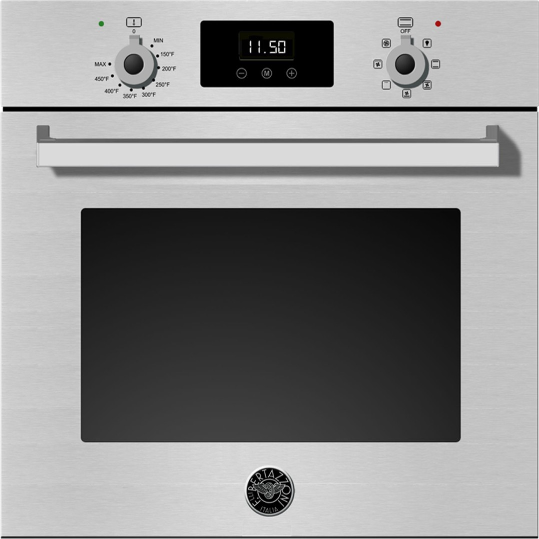 "Bertazzoni PROFS24XV 24"" Single Electric Wall Oven"