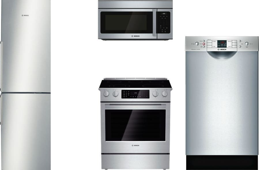Bosch 4 Piece Appliance Package With B11cb50sss