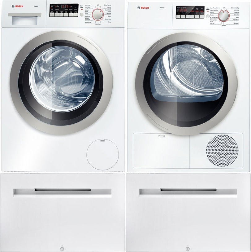 bosch axxis stackable dryer manual