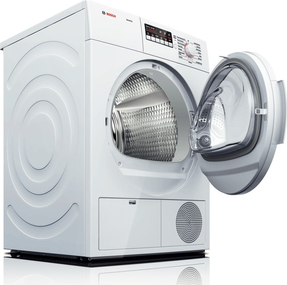 Miele stackable washer dryer ventless - Bosch Wtb86200uc Ascenta 24 Compact Ventless Electric Dryer White