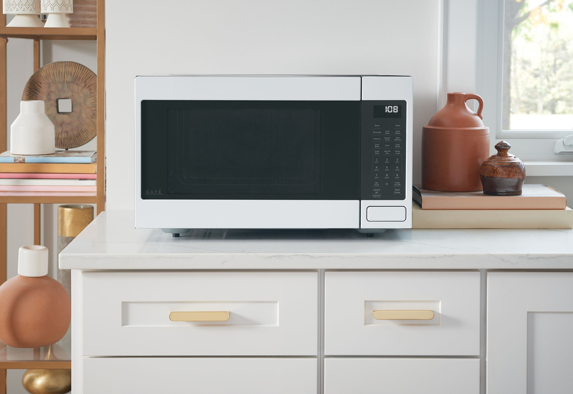 Cafe Countertop Or Built In Microwave