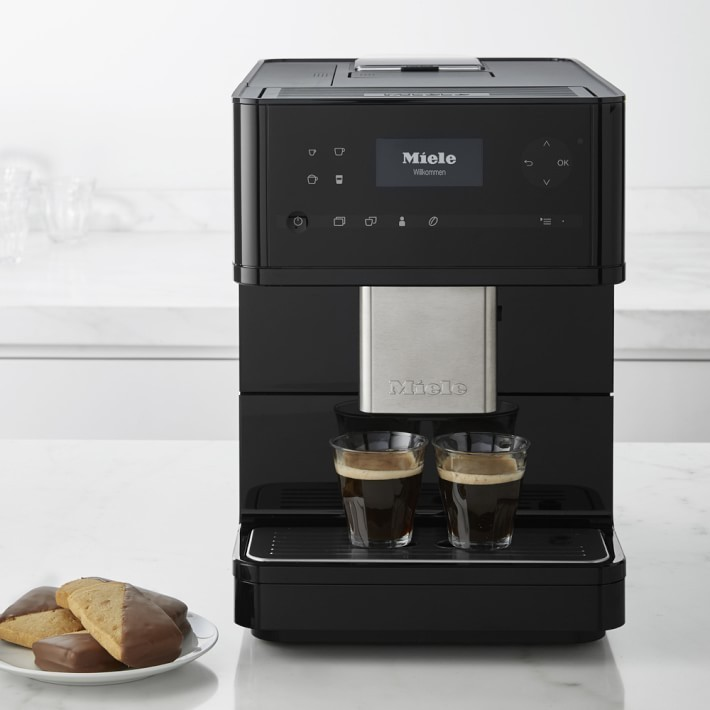 cm6150 lw  miele coffee maker with grinder white   make espresso drinks with ease 3 Coffee Maker That Makes Cappuccino