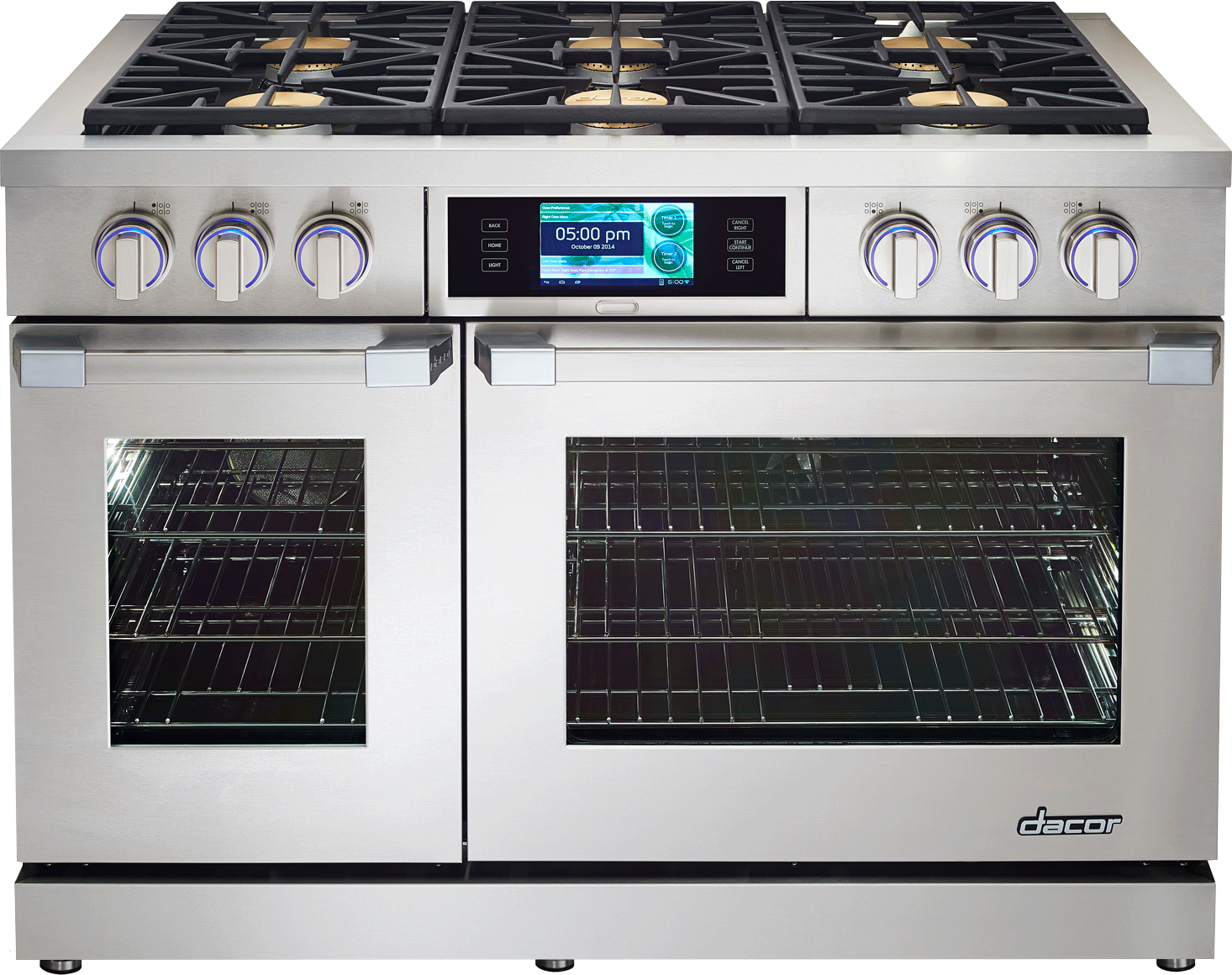 Dacor Dyrp48ds Ng Discovery 48 Dual Fuel Range Professional Style Wall Oven Wiring Diagram Feature