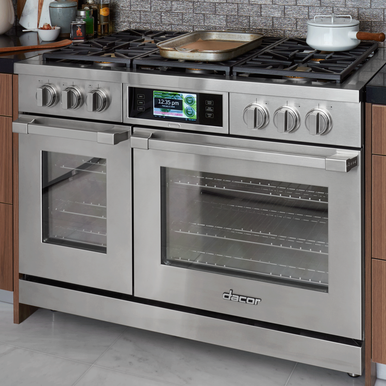 Dacor Dyrp48ds Ng Discovery 48 Dual Fuel Range Professional Style Wall Oven Wiring Diagram Feature Main