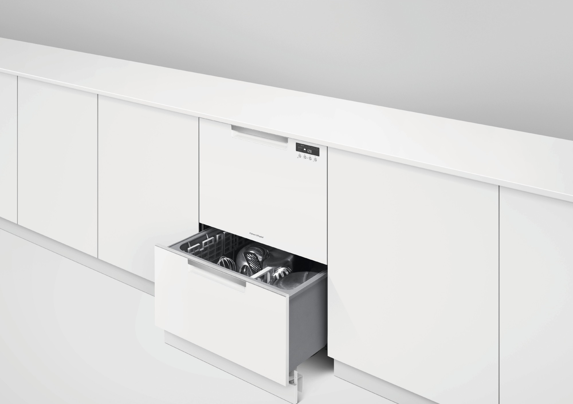fisher paykel dishwasher dd24dctw9n fisher paykel drawer dishwasher white 29916