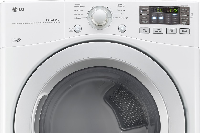 Dle3170w Lg 7 4 Cu Ft Electric Dryer White